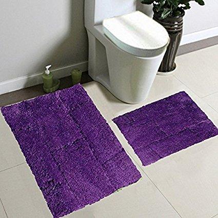 purple bathroom rug sets 5-min