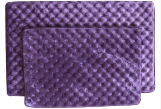 purple bathroom rug sets 7-min
