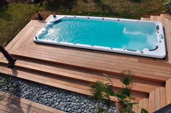 25  stunningly awesome swim spa installation ideas for your backyard
