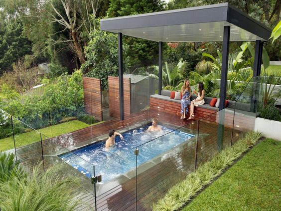 25 stunningly awesome swim spa installation ideas for for Indoor lap pool cost