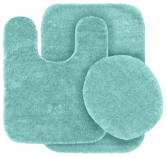 teal bathroom rugs 14-min