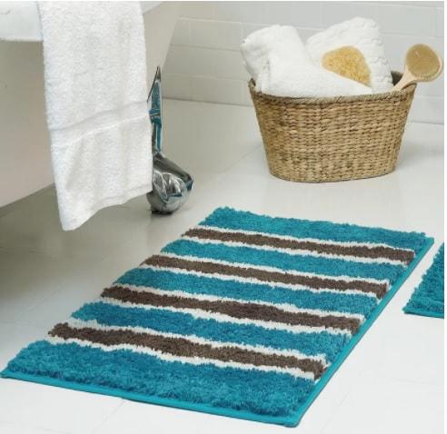 teal bathroom rugs 16-min