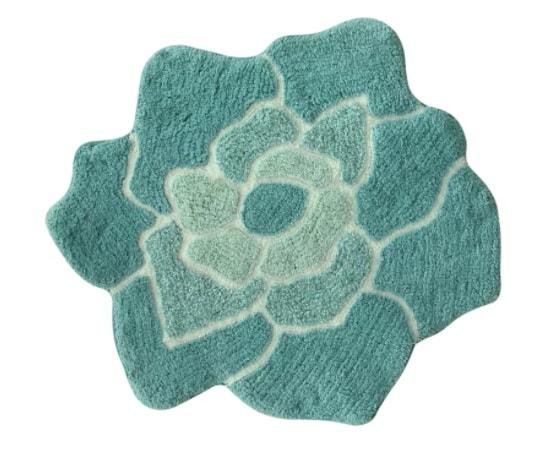 teal bathroom rugs 5-min