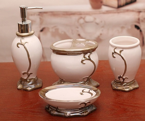 white and gold bathroom accessories 17-min