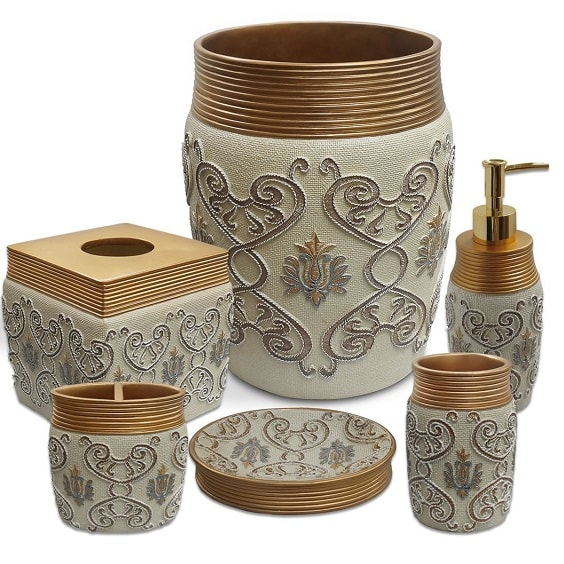 white and gold bathroom accessories 18-min