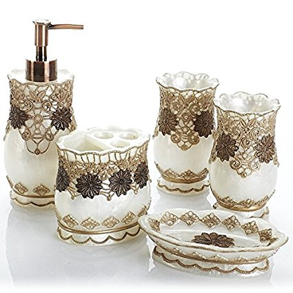 white and gold bathroom accessories 20-min