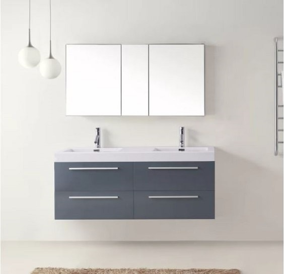 10 Recommended 52 Inch Bathroom Vanity Under 1 500 To Buy Now