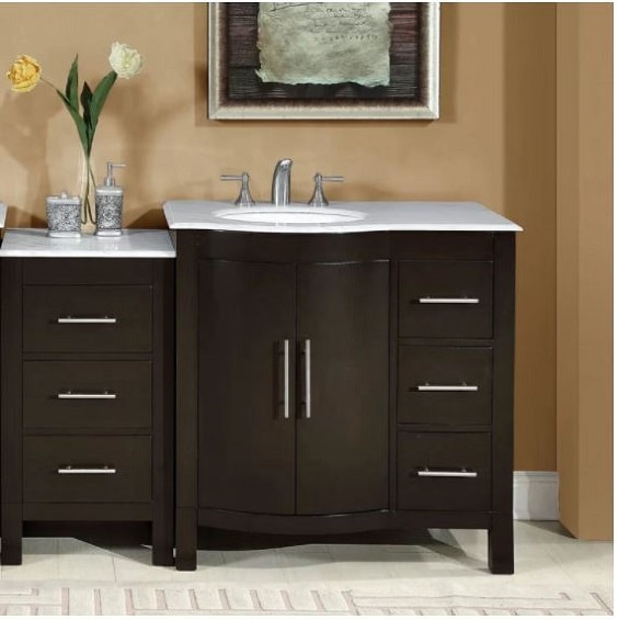 10 recommended 52 inch bathroom vanity under 1 500 to buy now - 52 inch bathroom vanity double sink ...
