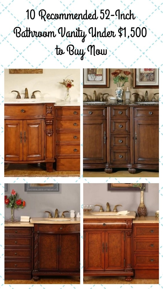 10 Recommended 52 Inch Bathroom Vanity Under ,500 to Buy Now