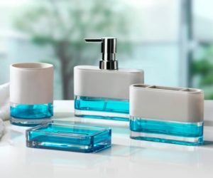 Aqua Bathroom Accessories 1-min