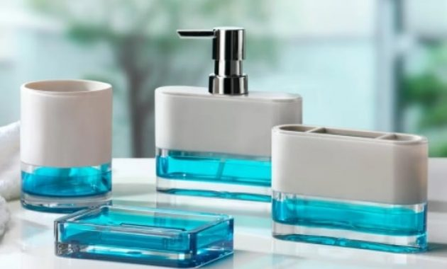 15 Worth-to-Buy Aqua Bathroom Accessories Set On Amazon