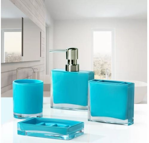 Aqua Bathroom Accessories 7-min