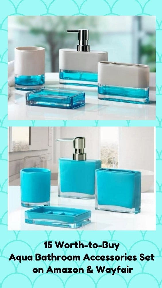 Aqua Bathroom Accessories-min