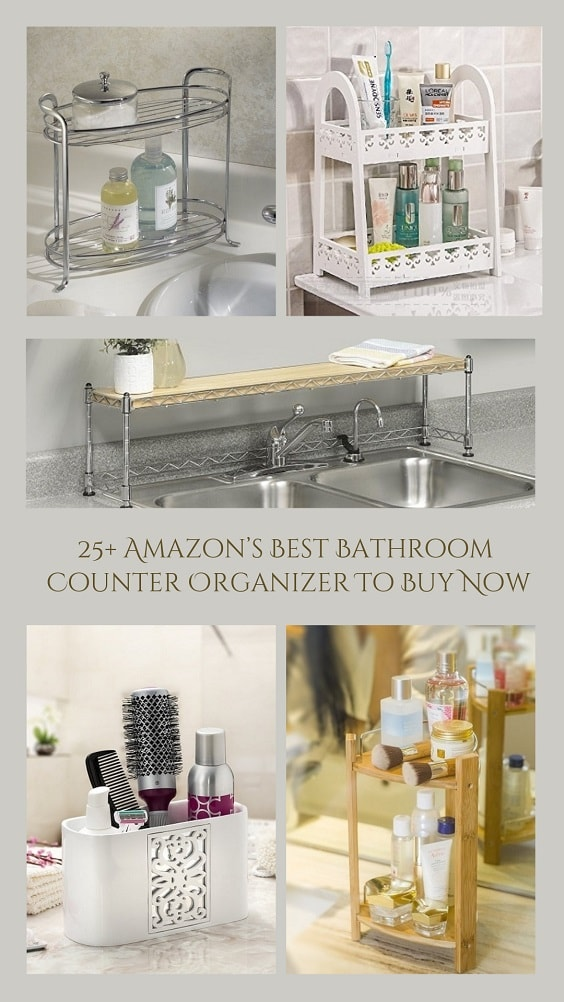 25+ Amazon\'s Best Bathroom Counter Organizer To Buy Now