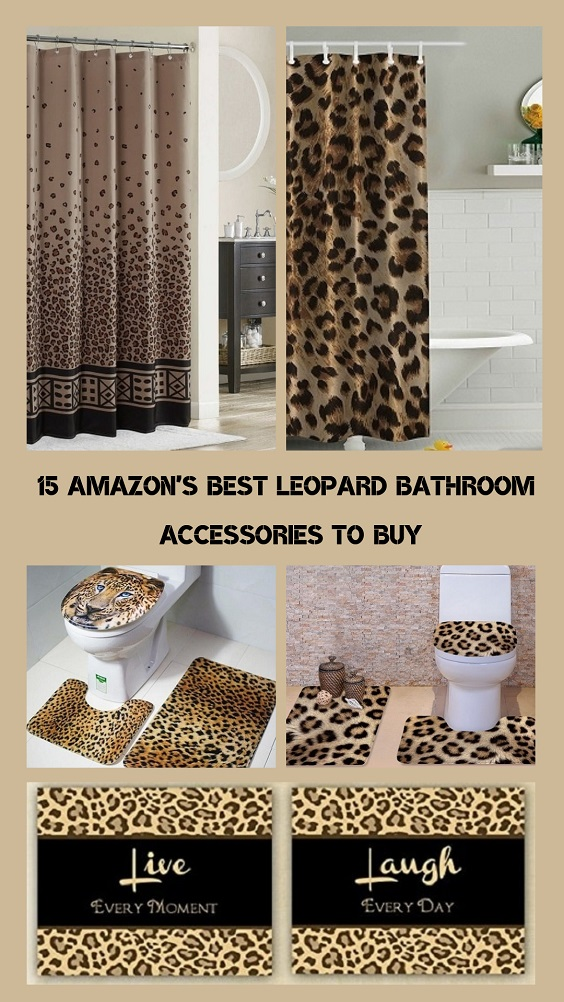 Leopard Bathroom pinterest