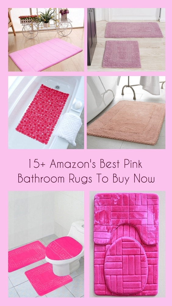 Pink Bathroom Rugs pinterest-min