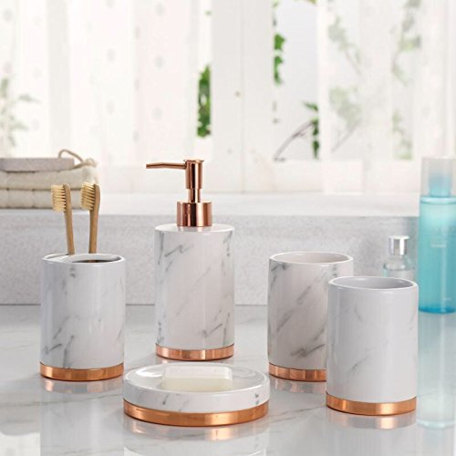 White Marble Bathroom Accessories 6 Min