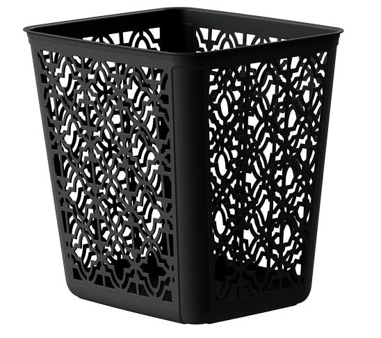 black bathroom trash can 12-min