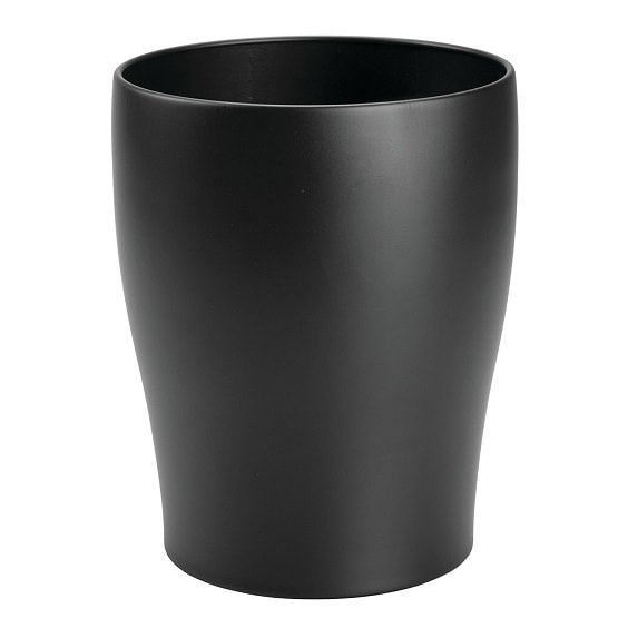 black bathroom trash can 9-min