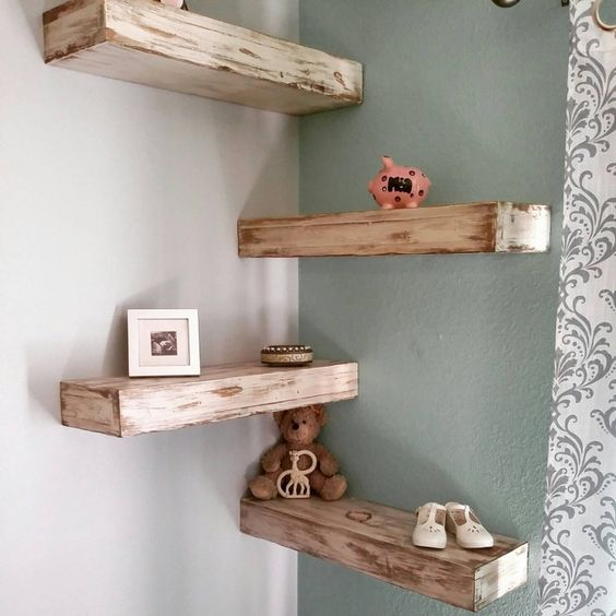 diy corner shelves 10