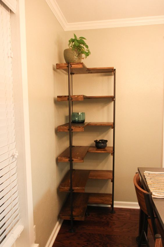 diy corner shelves 15