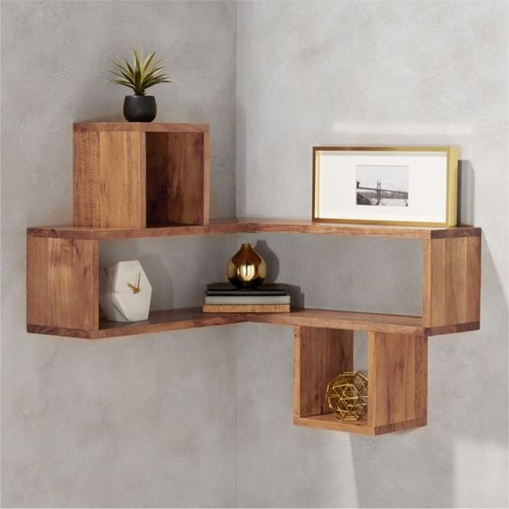 diy corner shelves 16