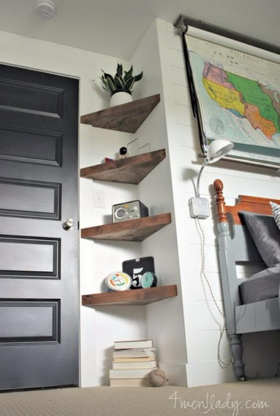 diy corner shelves 3-min