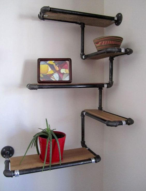 diy corner shelves 5