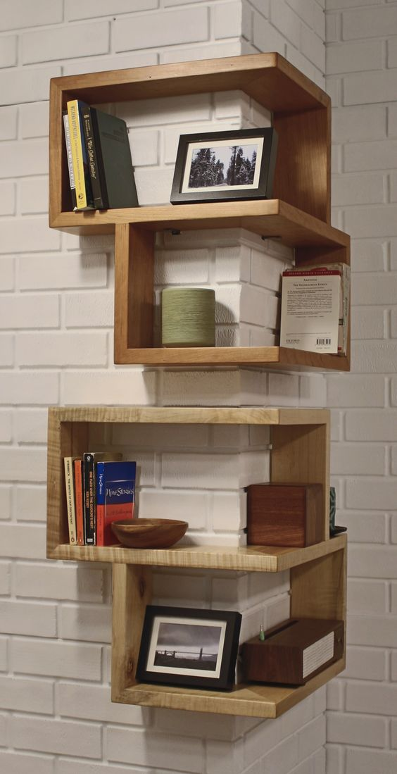 diy corner shelves 6