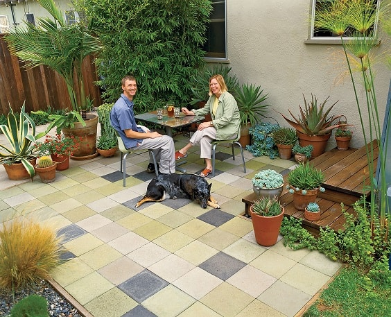 diy patio landscaping ideas 12-min