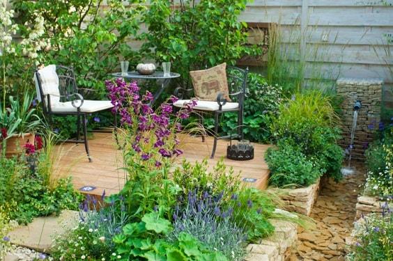 diy patio landscaping ideas 16-min