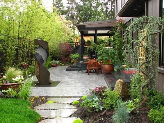 diy patio landscaping ideas 28-min