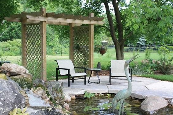 diy patio landscaping ideas 32-min