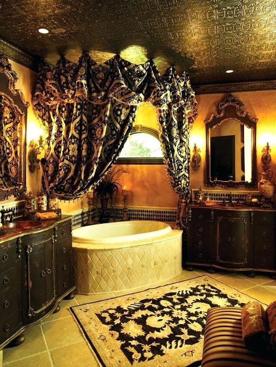 Dark Master Bathroom Ideas