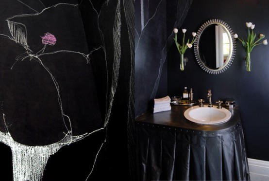 gothic bathroom decor 3-min