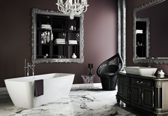 gothic bathroom decor 5-min