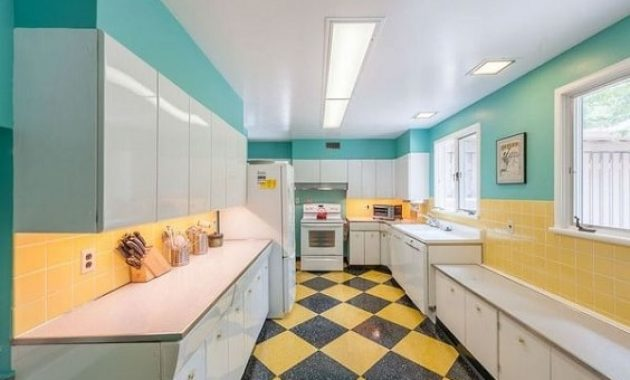 mid-century kitchen ideas 1-min