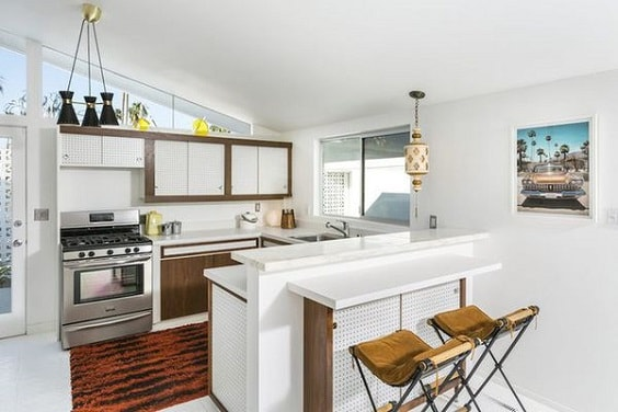 mid-century kitchen ideas 4-min