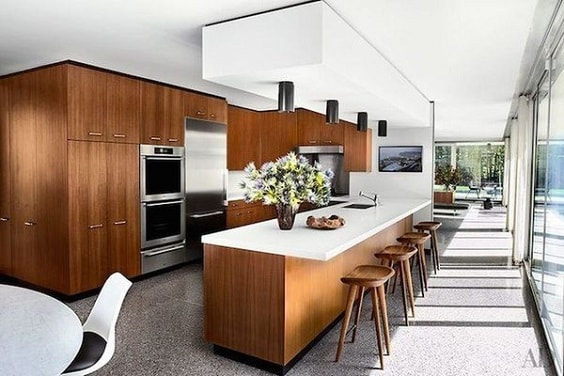 mid-century kitchen ideas 8-min