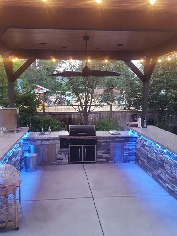 outdoor kitchen ideas 10-min