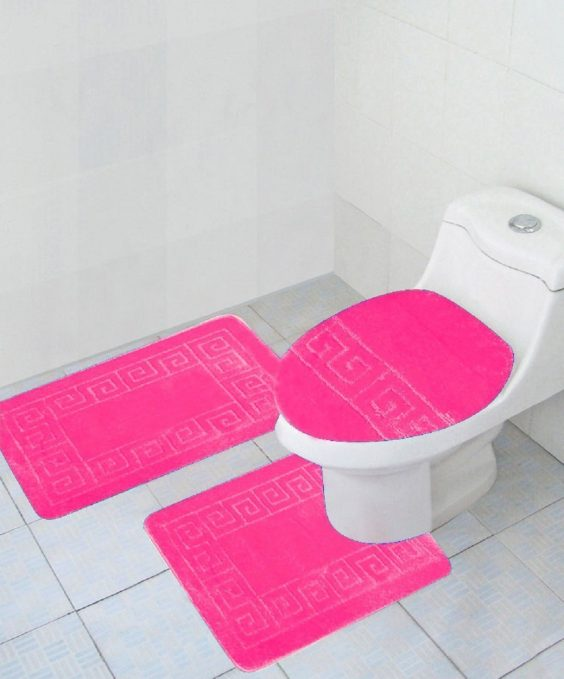 15 Amazon S Best Pink Bathroom Rugs To Buy Now