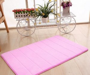 pink bathroom rugs 9-min