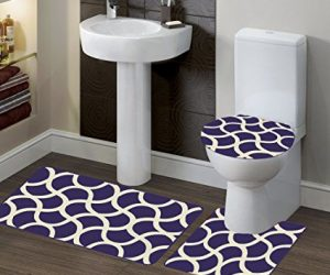 purple bathroom rug sets 12-min
