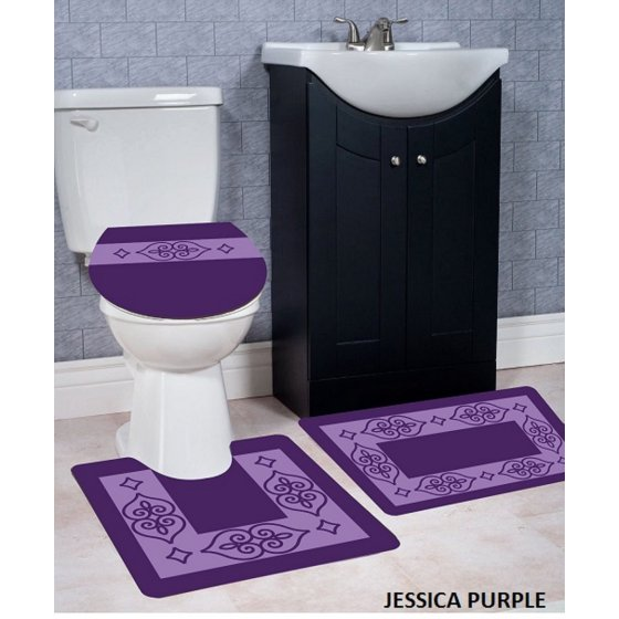 purple bathroom rug sets 15-min