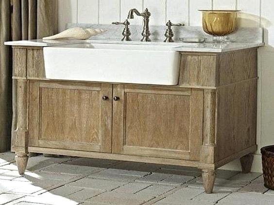 weathered wood bathroom vanity ideas 12-min