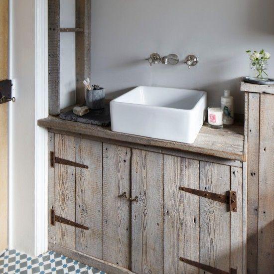 weathered wood bathroom vanity ideas 22-min