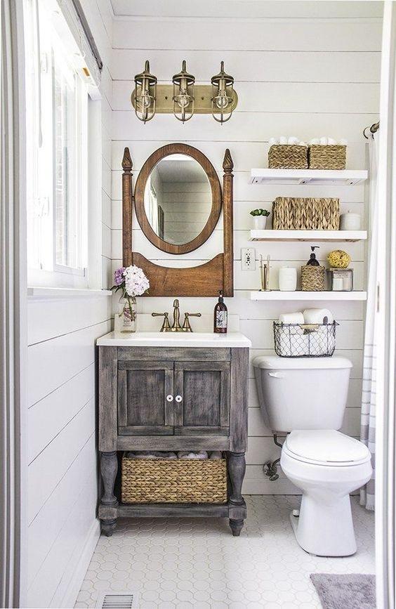 weathered wood bathroom vanity ideas 5-min