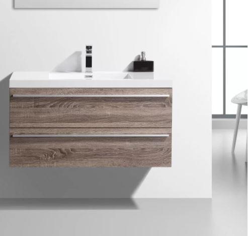 weathered wood bathroom vanity ideas 7-min