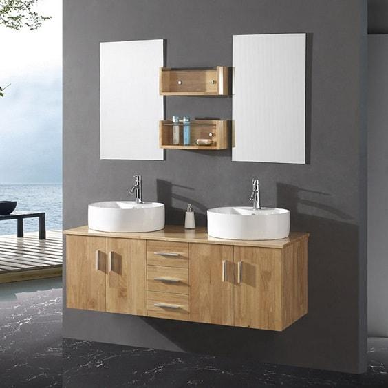 weathered wood bathroom vanity ideas 8-min