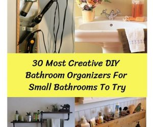 Bathroom Organizers For Small Bathrooms (1)